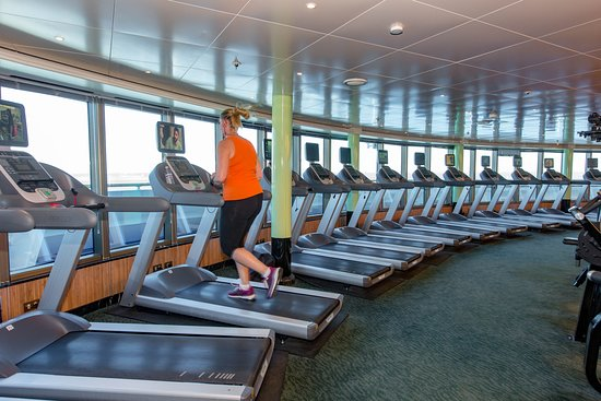 Fitness Center on Ruby Princess