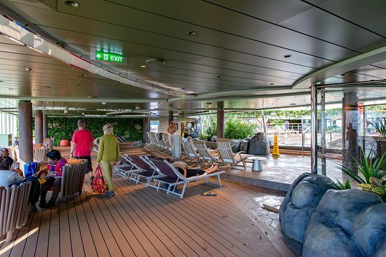 Jungle Pool on MSC Seaview