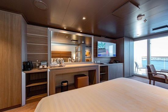 The MSC Yacht Club Deluxe Suite on MSC Seaview
