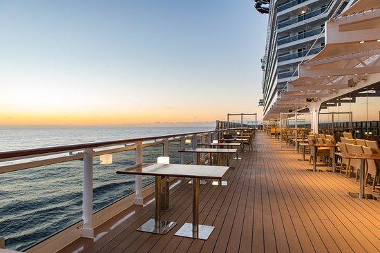 Waterfront Boardwalk on MSC Seaview - Picture of MSC ...