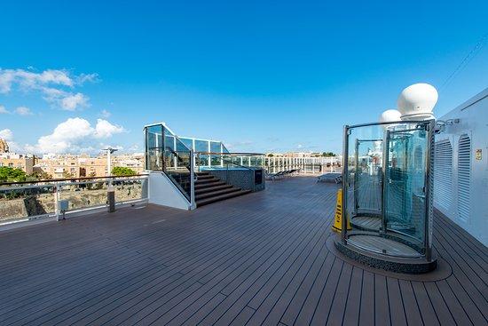 Waterfront Boardwalk on MSC Seaview