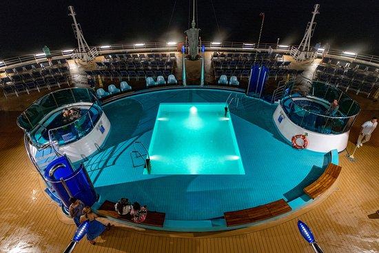 Sunset Pool on Carnival Dream