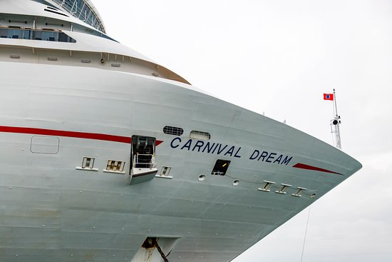 Ship Exterior on Carnival Dream