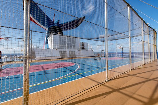 Sports Court on Carnival Dream
