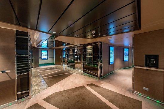 Hallways on MSC Seaview