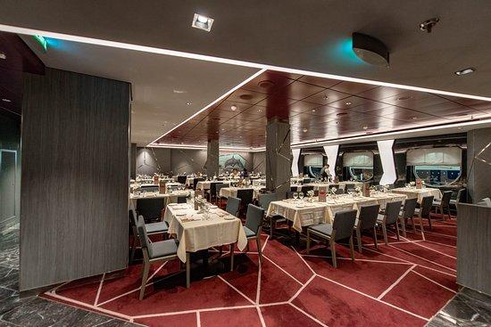 Silver Dolphin Restaurant on MSC Seaview