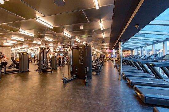 Fitness Center on MSC Seaview