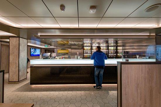 Marketplace Bar on MSC Seaview
