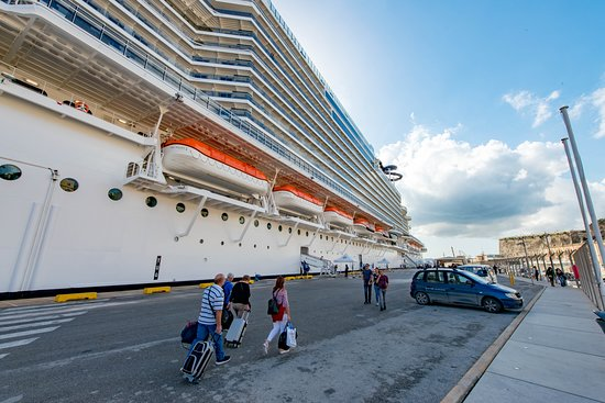 Ship Exterior on MSC Seaview