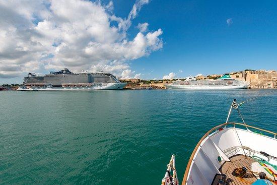 Ship Exterior on MSC Seaview
