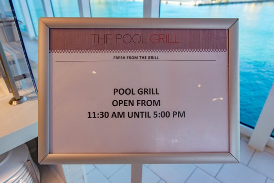 The Pool Grill on Viking Sun