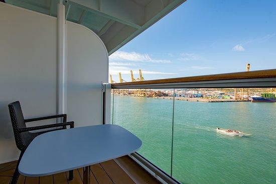 The Deluxe Veranda Cabin on Viking Sun