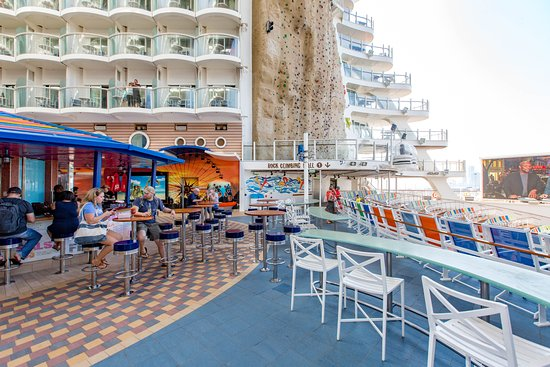 Allure of the Seas: Boardwalk on Allure of the Seas