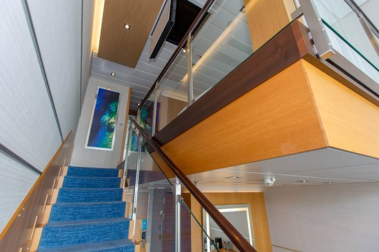 The Crown Loft Suite on Allure of the Seas