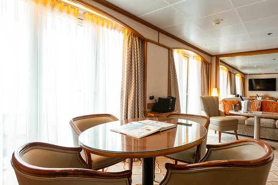 The Silver Suite on Silver Wind