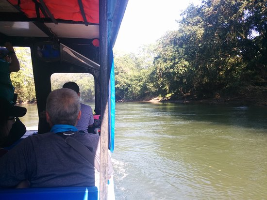 Province of Heredia, Kostaryka: view from boat