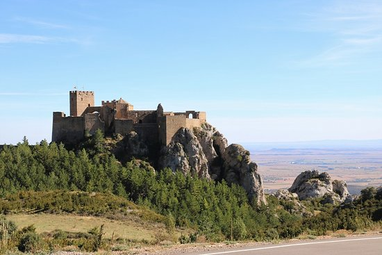 Aragonia, Hiszpania: Castle from a distance