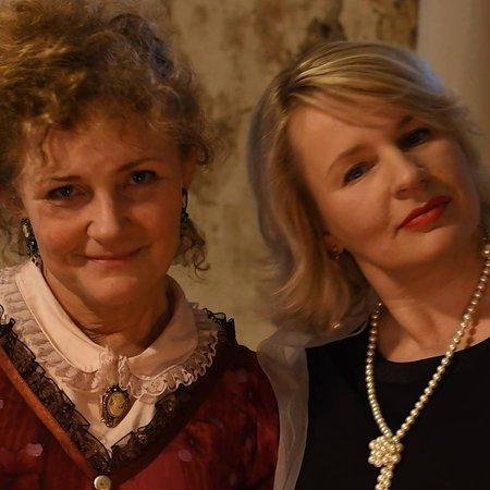 Anija, Estonia: Hostesses Ülle and Kristiina