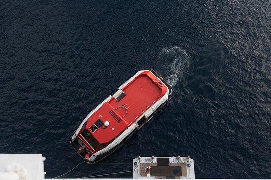 Tender Boats on Azamara Journey