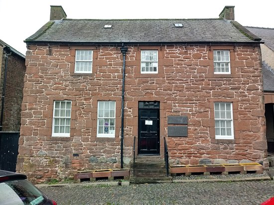 Robert Burns last home in Dumfries, now a museum. All of the features on The Burn's Trail are within walking distance from The Aberdour Hotel.