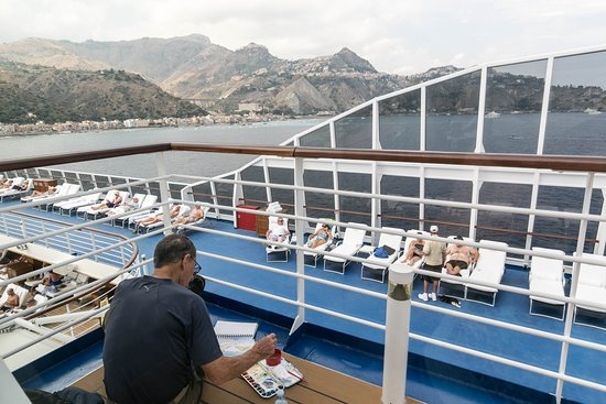 Deck Seating on Riviera