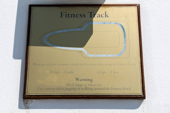 Fitness Track on Riviera