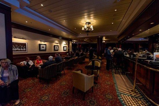 Golden Lion Pub on Queen Mary 2 (QM2)
