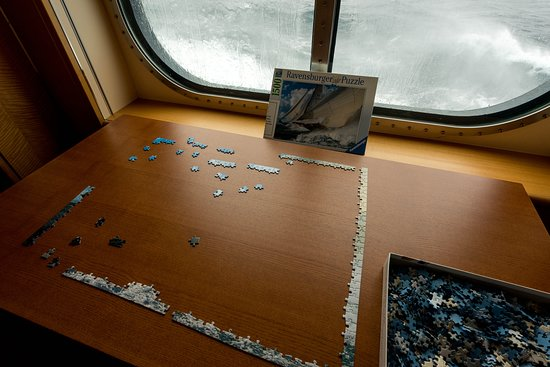 Board Games on Queen Mary 2 (QM2)