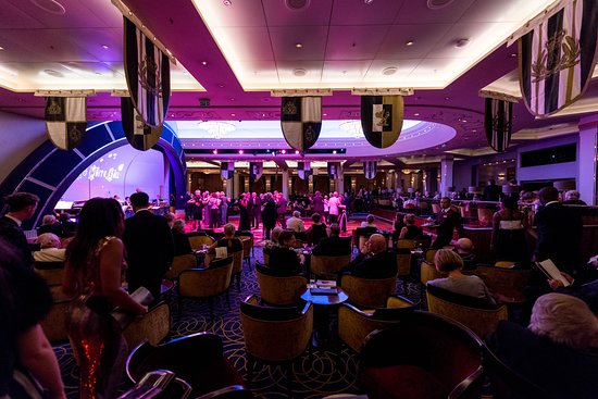 Black and White Ball on Queen Mary 2 (QM2)