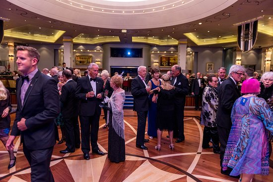 Senior Officers Party on Queen Mary 2 (QM2)