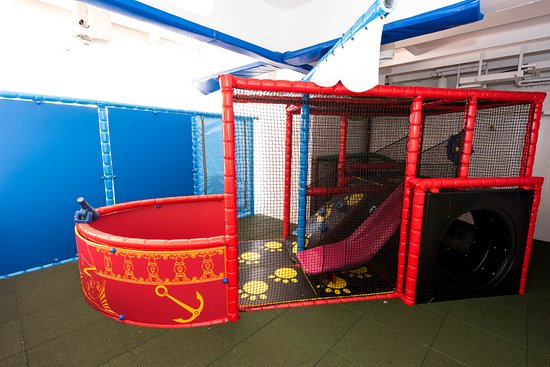 The Play Zone on Queen Mary 2 (QM2)