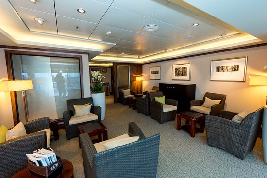 Relaxation Lounge on Queen Mary 2 (QM2)