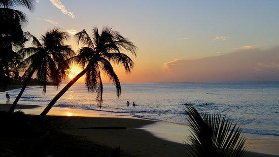 Rifflet, Guadalupe: coucher de soleil