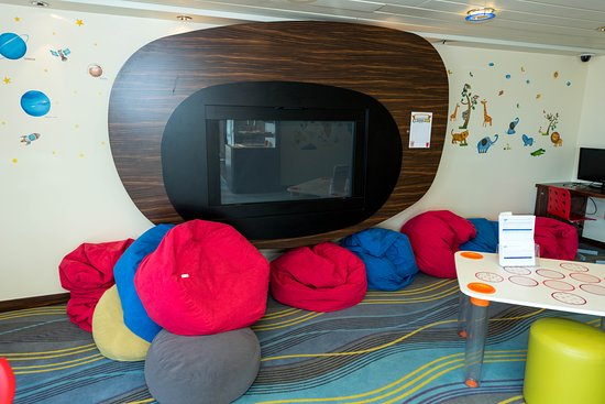 The Kids Zone on Queen Mary 2 (QM2)