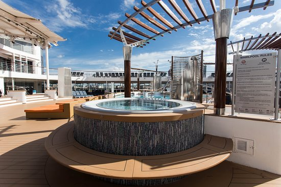 The Hot Tubs on Celebrity Infinity