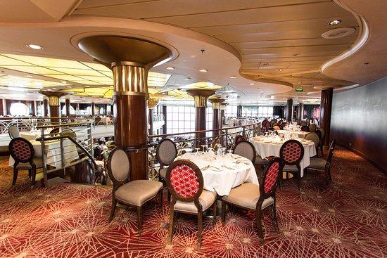 The Trellis Restaurant on Celebrity Infinity