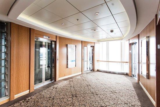 Elevators on Celebrity Infinity