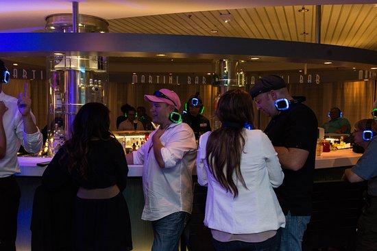 Headphone Party on Celebrity Infinity