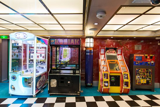 Video Arcade on Explorer of the Seas