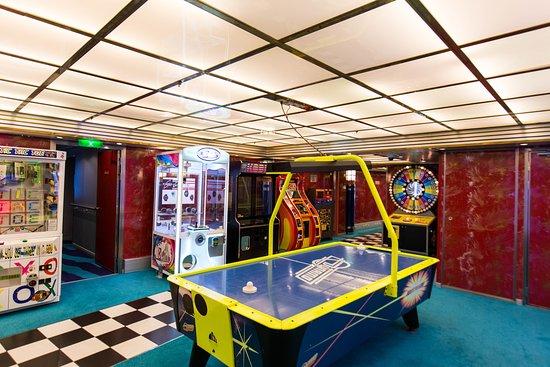 Video Arcade on Explorer of the Seas