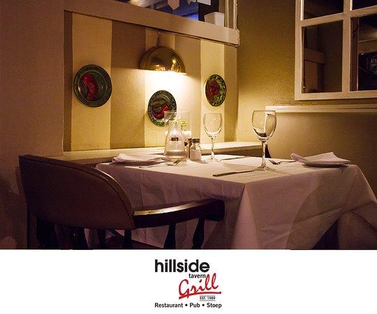 Hillside Tavern Grill: Table 15