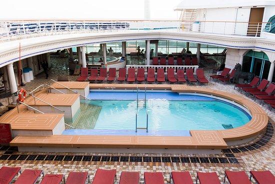 The Solarium Pool on Explorer of the Seas