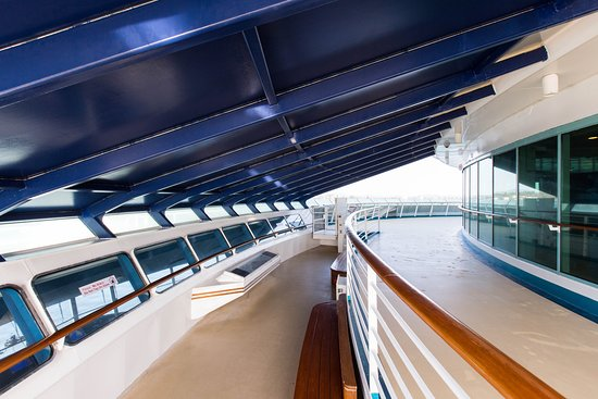 Peek-a-Boo Bridge Overlook on Explorer of the Seas