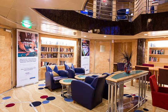 Library on Explorer of the Seas