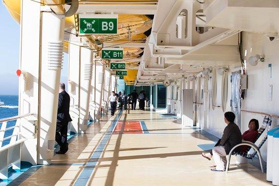 Hallways on Explorer of the Seas