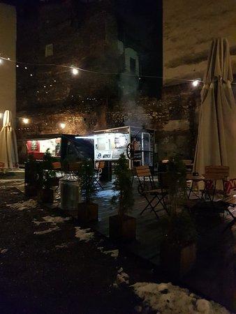 Truckarnia in the Jewish Quarter.