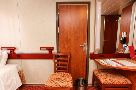 The Oceanview Cabin on Carnival Imagination