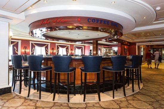 John Adams Coffee Bar on Pride of America
