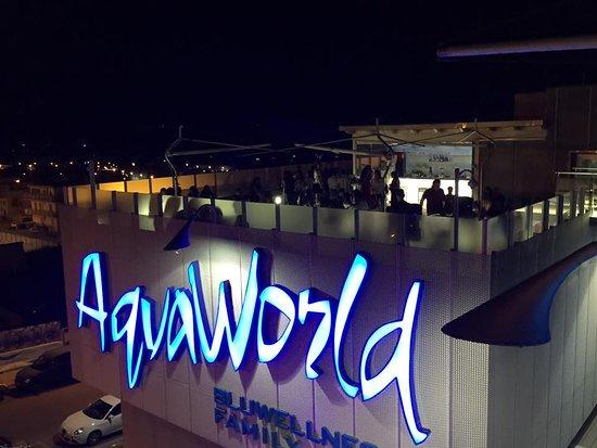 Matera, Italy: Aqvaworld by night. Eventi estivi sulla terrazza
