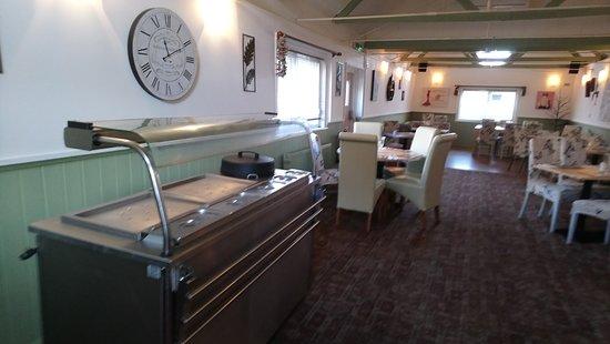The Bull Inn East Farleigh: function room and carvery